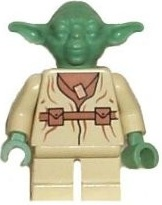 Minifigurer Yoda Old Limited 9014