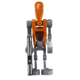Minifigurer Rocket Battle Droid 9017