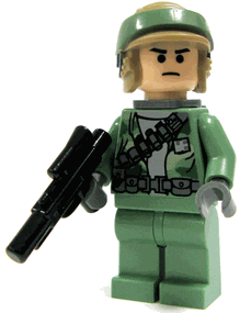 Minifigurer Rebel Commando Limited 9035