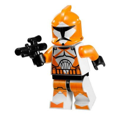 Minifigurer Armed Squad Trooper 9045