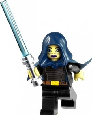 Minifigurer Star Wars Barriss Offee 9053
