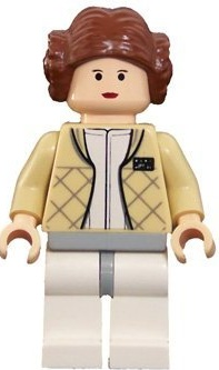Minifigurer Prinsessan Leia Hoth Limited 9026