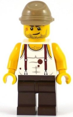 Minifigurer Mac McCloud 9104