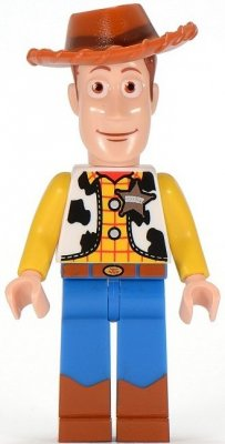 Minifigurer Toy Story Woody 9211