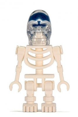 Minifigurer Indiana Jones Akator Skeleton 9303