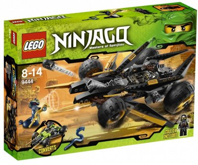 Ninjago Coles attackbil 9444