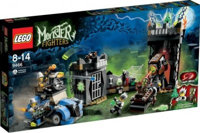 LEGO Monster Fighters Galna professorn och monstret 9466