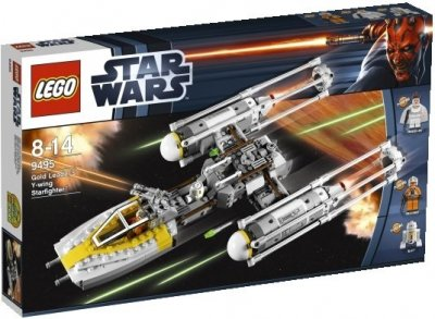 STAR WARS Gold Leaders Y-wing Starfighter 9495
