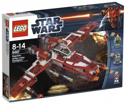 STAR WARS Republic Striker-class Starfighter 9497