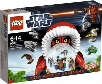 LEGO STAR WARS Adventskalender 2012 9509