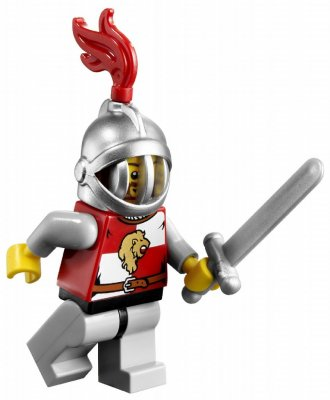 Minifigurer Kindoms Knight 9511