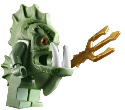 Minifigurer Atlantis Atlantis Barracuda Warrior 9603