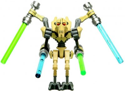 Minifigurer General Grievous 8980