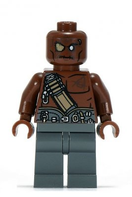 Minifigurer Pirates Gunner Zombie 9906