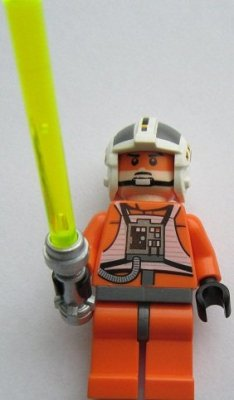 Minifigurer Luke Skywalker Pilot Limited 9089