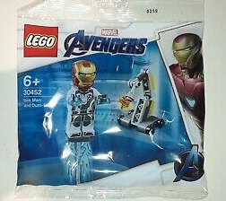 LEGO Super Hereos Iron Man and Dum-E polybag 30452