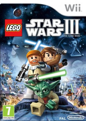 LEGO Star Wars III The Clone Wars Nitendo Wii 5005