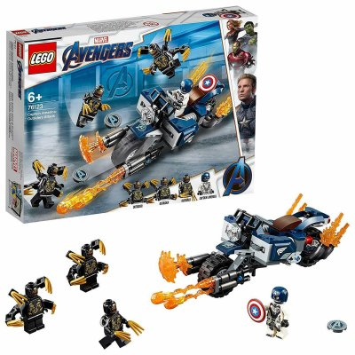 LEGO Super Heroes Captain America: Outriders Attack 76123