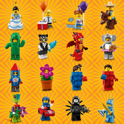 LEGO Serie 18 Party 16 figurer 71021999