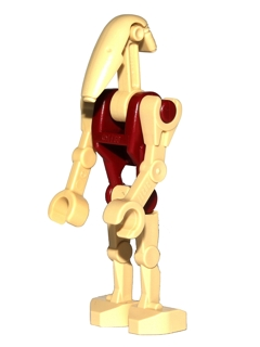 Minifigurer Battle Droid Security 8982