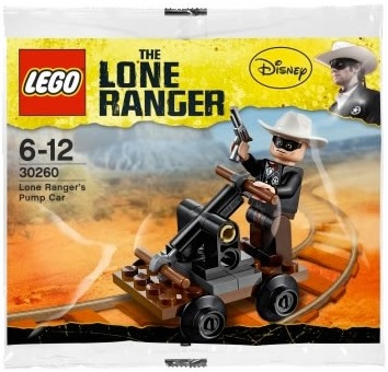 LEGO Lone Ranger Pump Car 30260