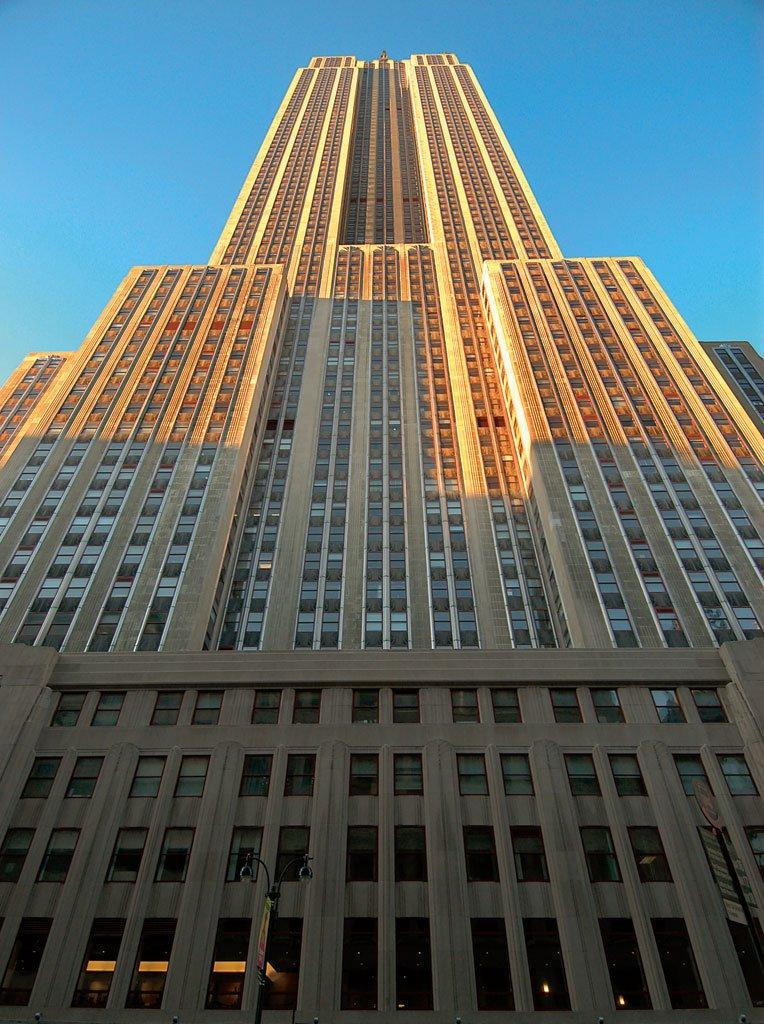 Exklusivt LEGO Architecture Empire State Building 21002 ...