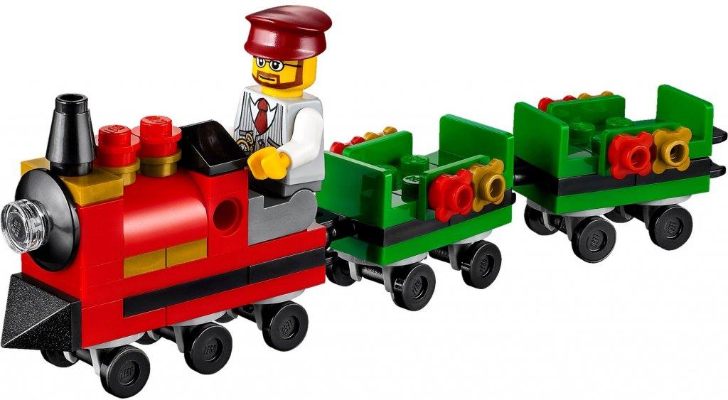 Lego Christmas Train.Lego Christmas Train Ride 40262