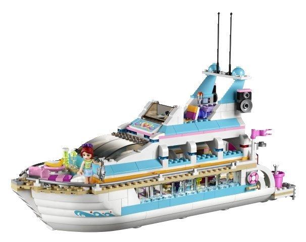 Uvanlig LEGO Friends Kryssningsfartyg 41015 - LEGO Friends - Teman - Ebrix.se KV-63