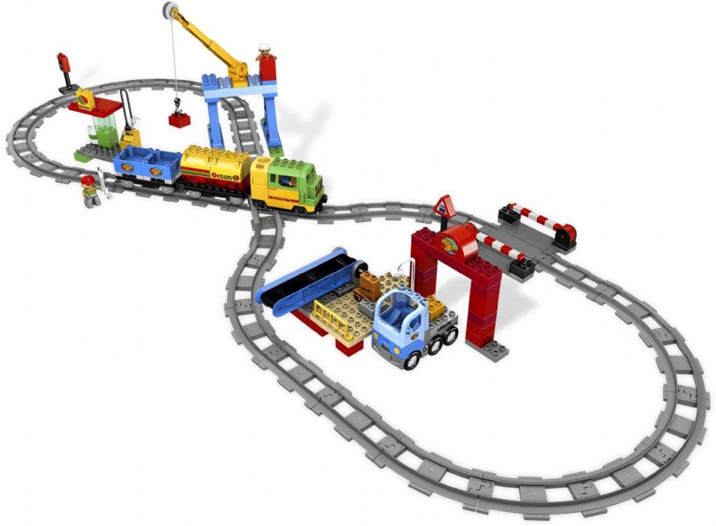 Lego Förvaring Huvud Stort ~ LEGO Duplo Extra Stort Tågset 5609 LEGO DUPLO Teman Ebrix se