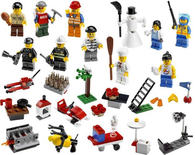 Lego city adventskalender 2008 7724 tema lego jul - Adventskalender duplo ...