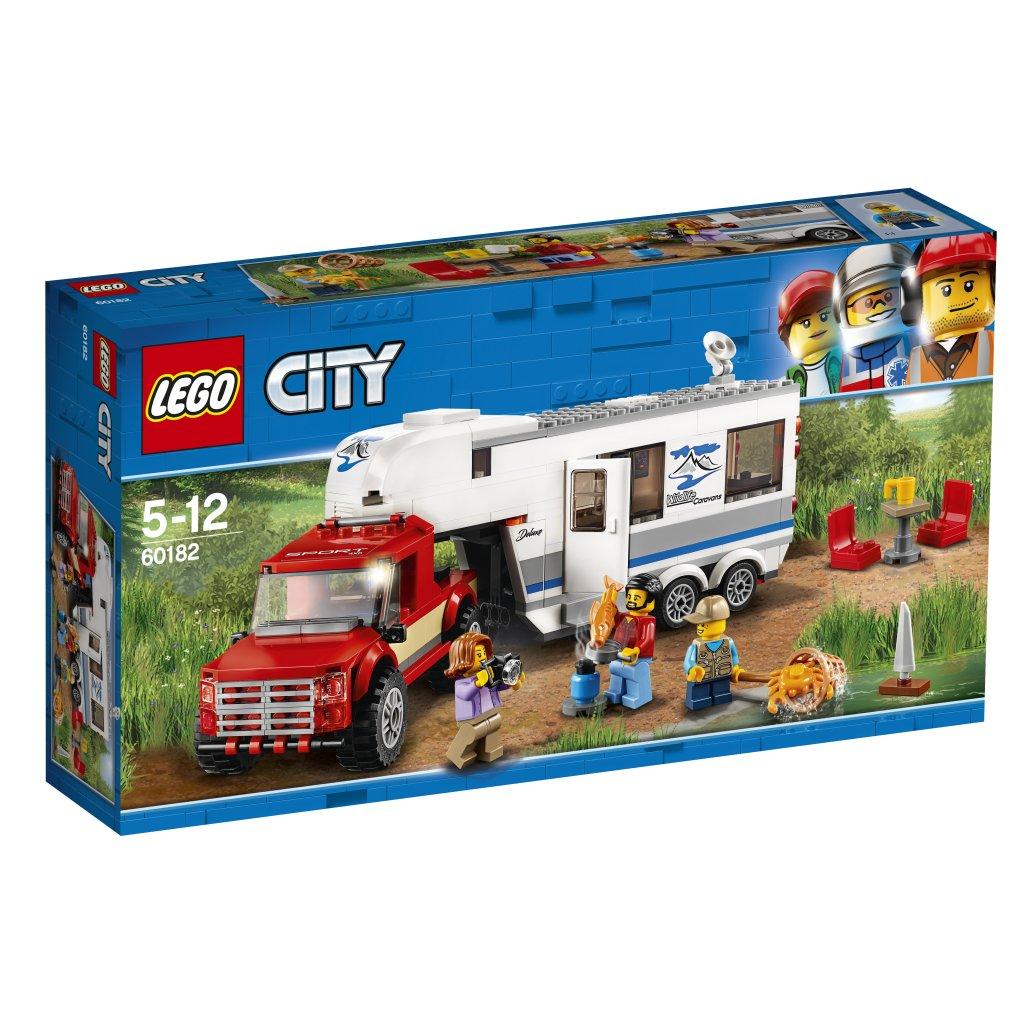 Lækker LEGO City Pickup och Husvagn 60182 - LEGO City - Teman - Ebrix.se UW-93