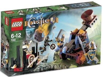 Lego castle knights catapult defense 7091 lego castle teman - Lego chevaliers ...