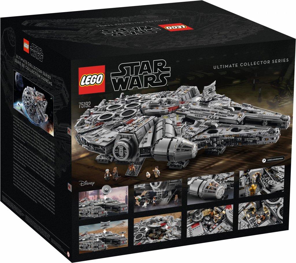 Lego Star Wars Ucs Millennium Falcon 75192 Lego Exklusivt Ebrixse
