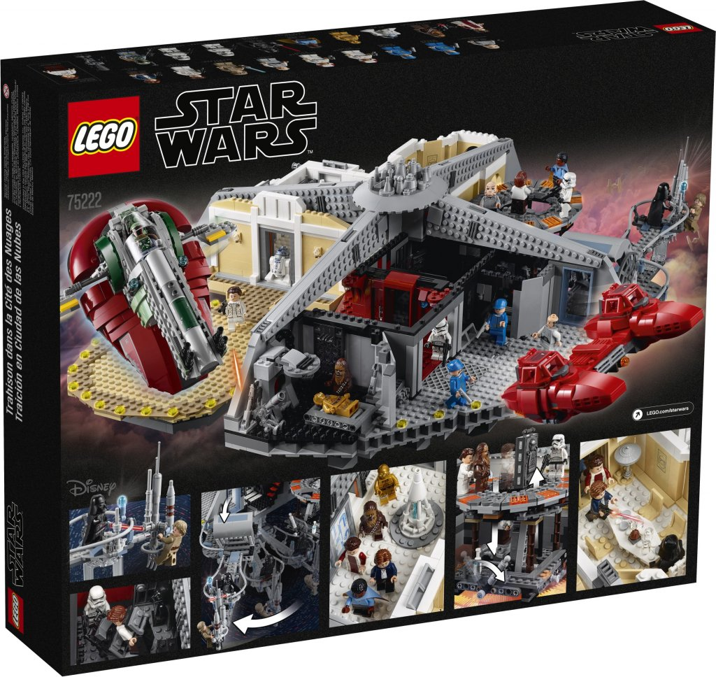 Lego Star Wars Betrayal At Cloud City 75222 Lego