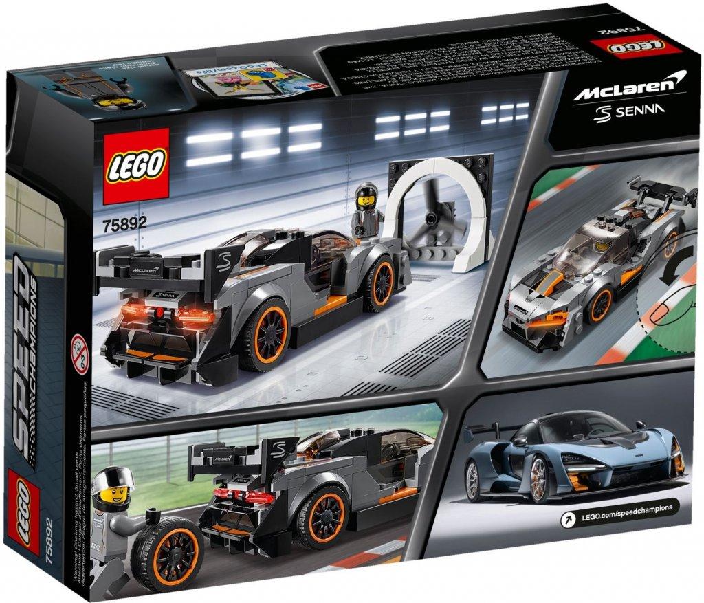 lego speed champions mclaren senna 75892 lego nyheter. Black Bedroom Furniture Sets. Home Design Ideas