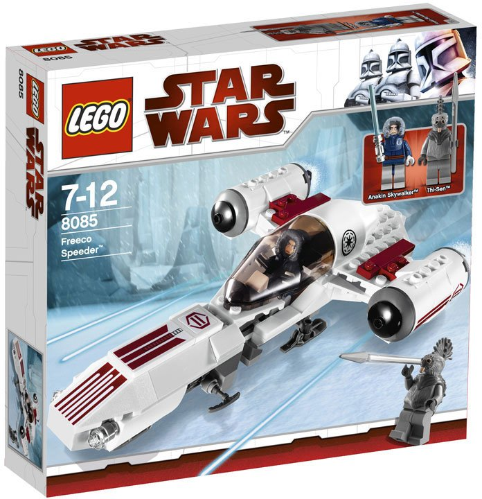 Star wars freeco speeder 8085 lego star wars teman - Vaisseau star wars anakin ...